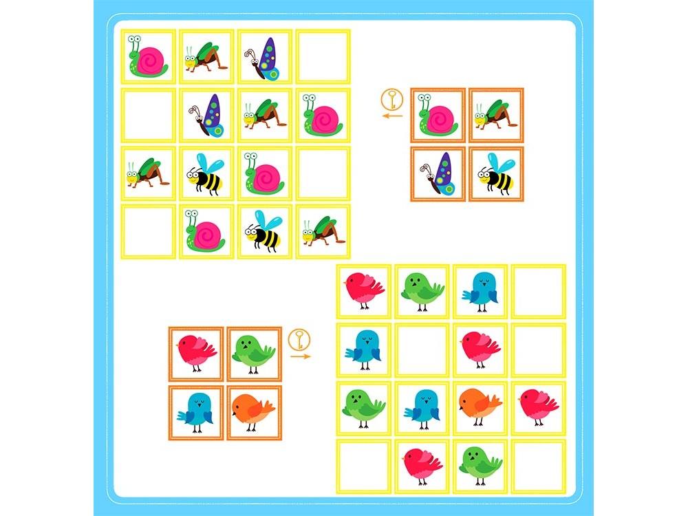 Судоку для детей с картинками