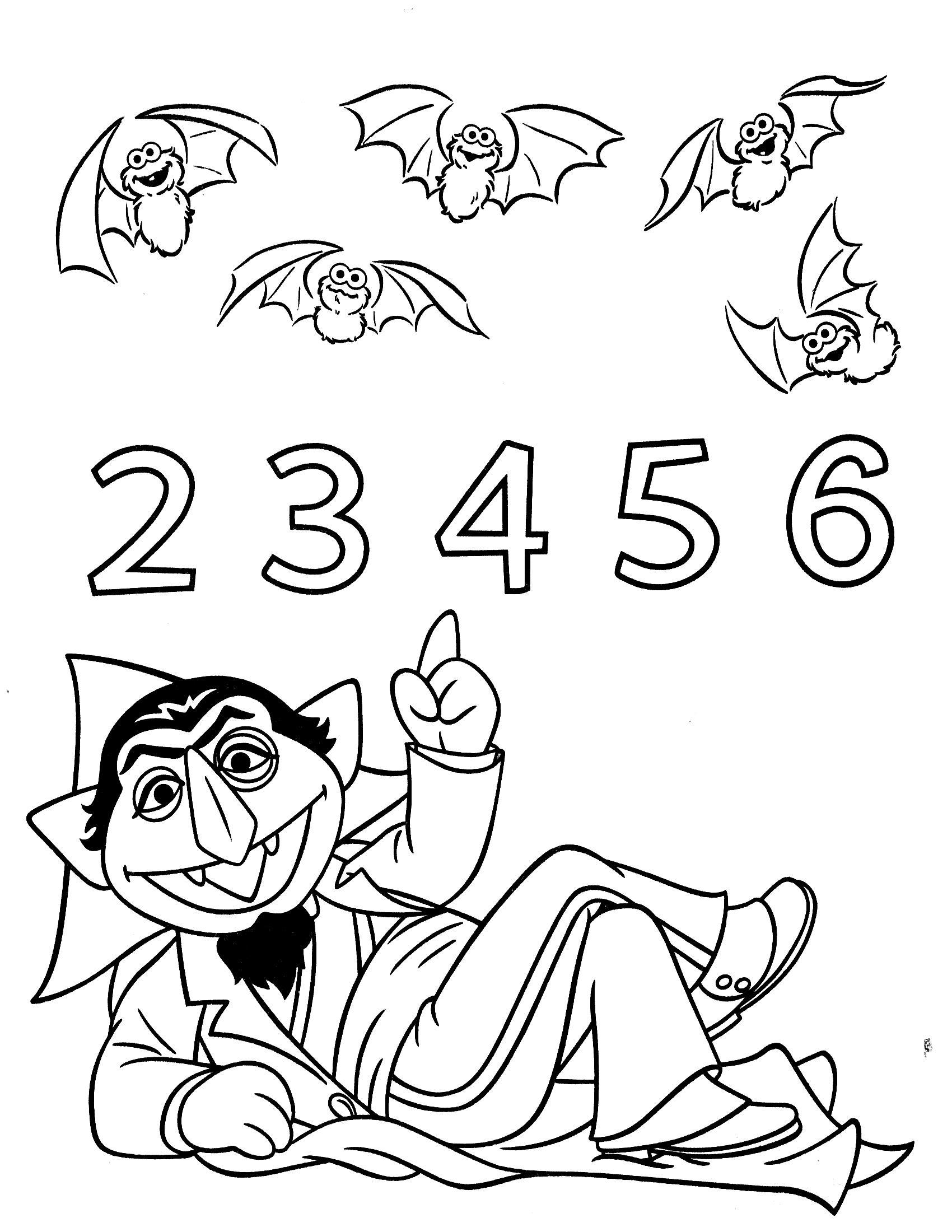 Учимся считать, посчитай летучих мышей