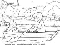 Винни пух в лодке