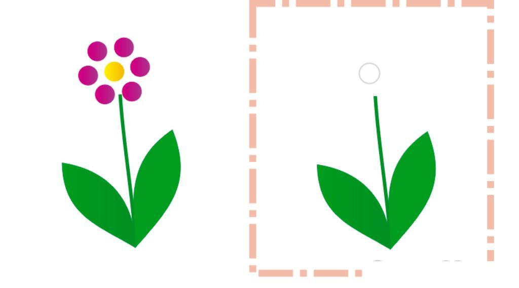 Шаблоны для рисования пальчиками, цветочек