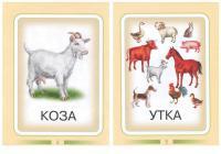 Карточки домашние животные