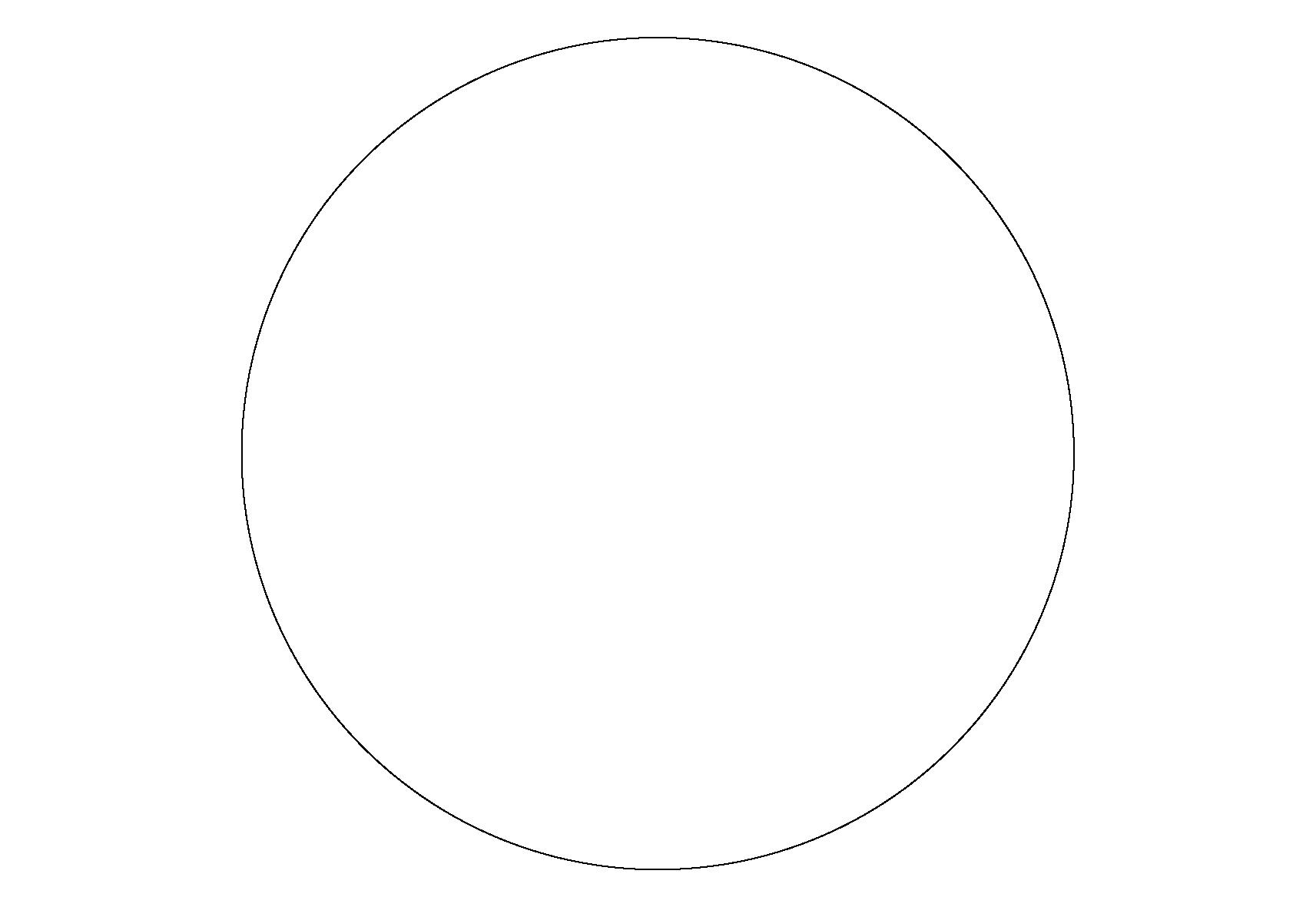 Раскраски фигуры, круг