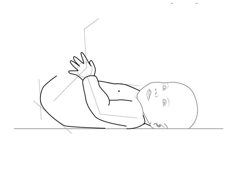 Как нарисовать для детей ребенка