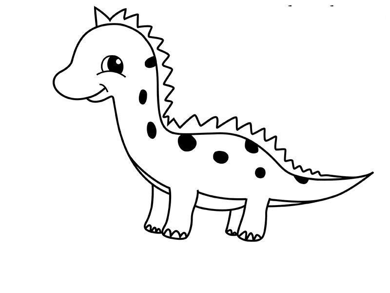 Как нарисовать для детей дракошку