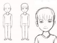Как нарисовать для детей мальчика поэтапно