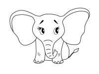 Как нарисовать для детей слона