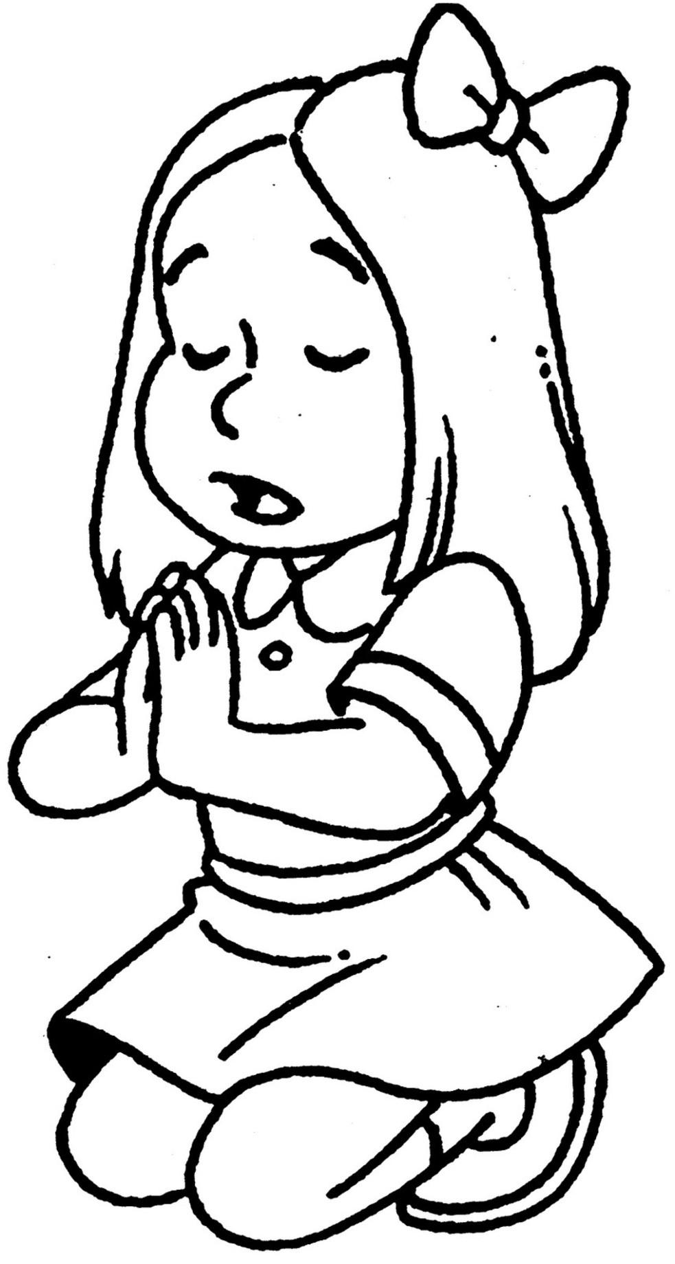 Обучающие раскраски, девочка
