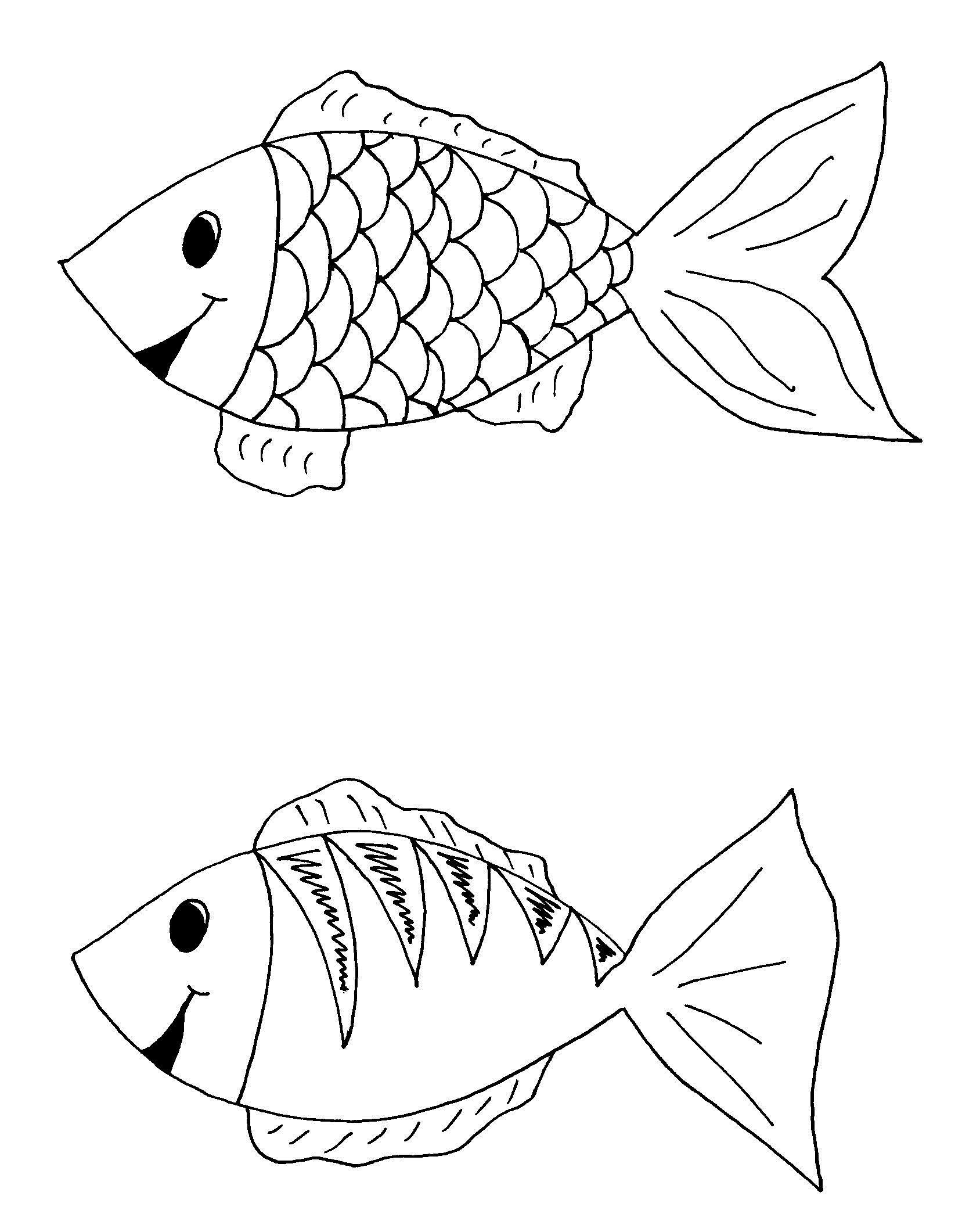 Найди отличия у рыбок