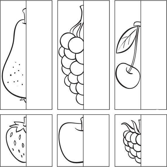 Груша, виноград, вишня