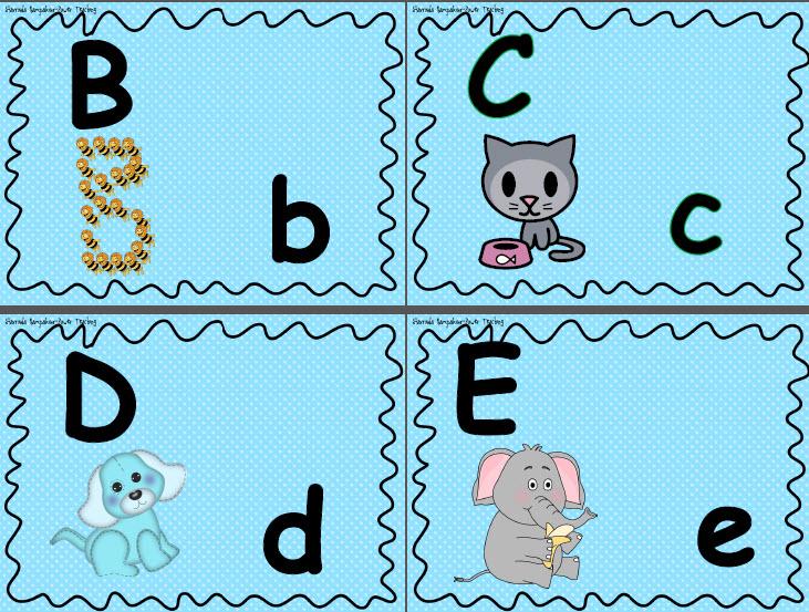 Буквы в, с, d, е