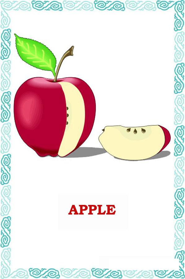 Яблоко по английски