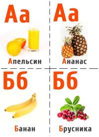 Апельсин, ананас, банан